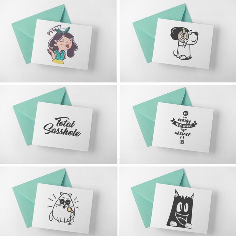 cards, card, custom, vinyl, print