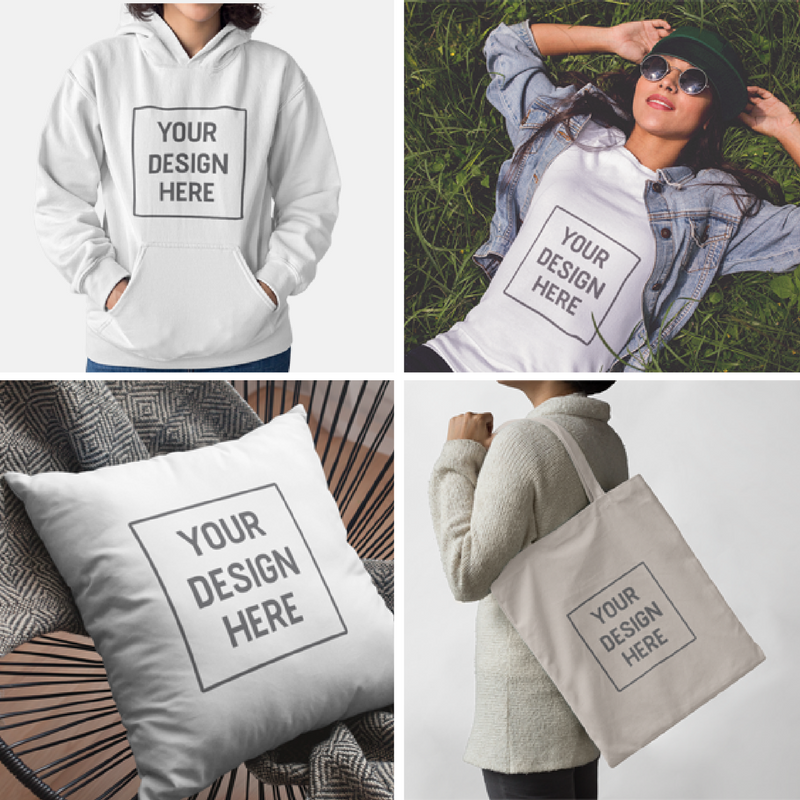 custom, t-shirt, cushion, bag, tote, hoodie