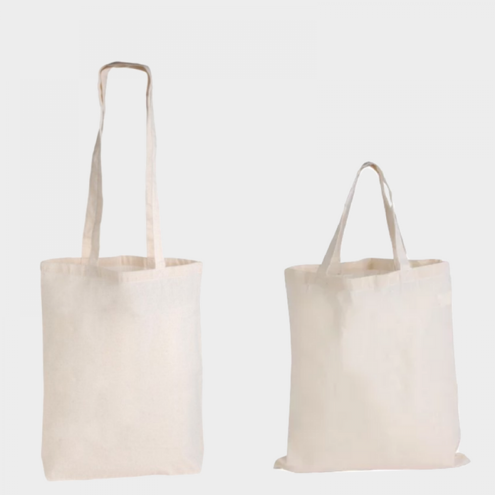library bag, natural, calico, bag, totes