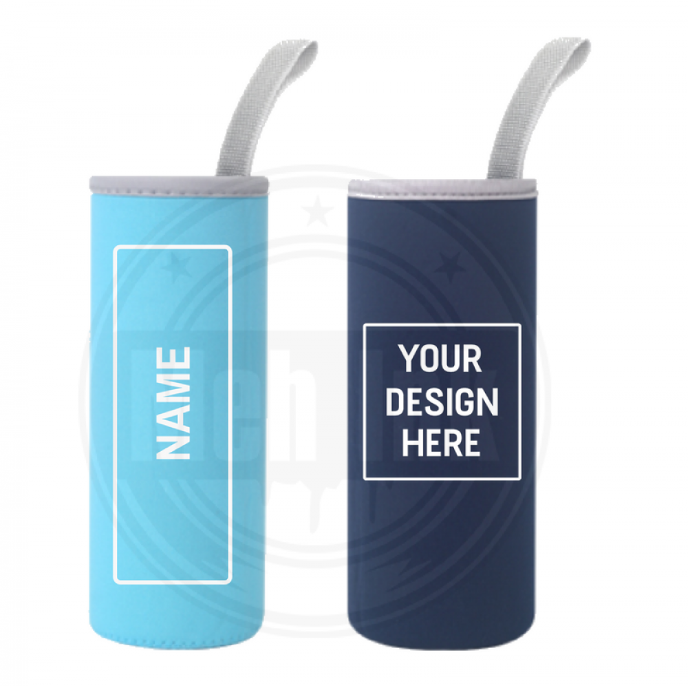 bottle sleeves, water bottle cooler, drink bottle, neoprene, bottle cooler