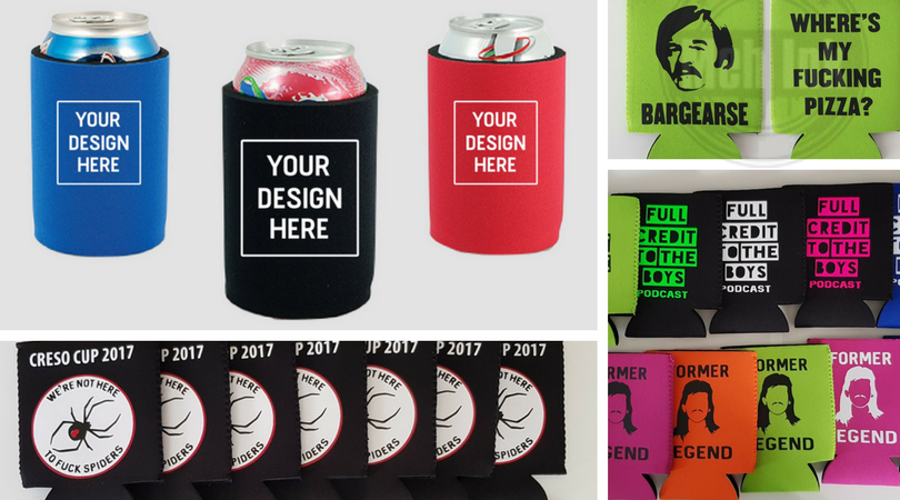 custom stubby holders, beer cooler, stubbie holder