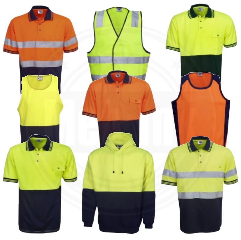 custom workwear, business, safety, hi-vis, work shirt, polo