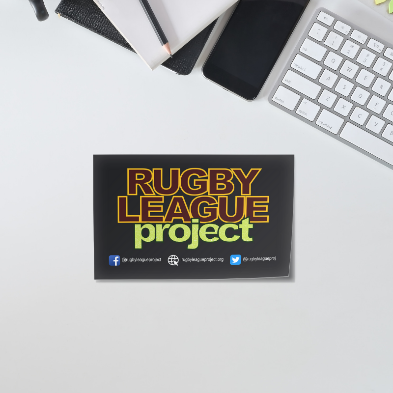rugby league project logo sticker