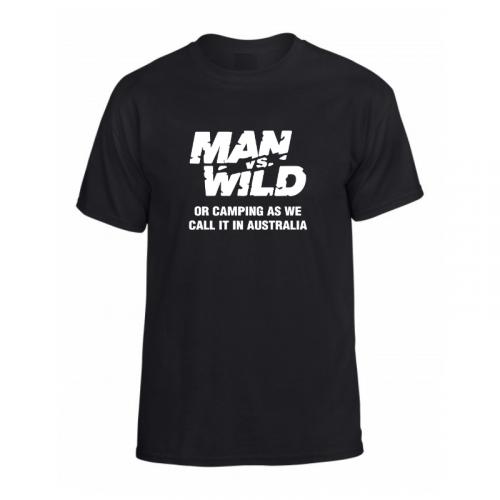 man vs wild or camping