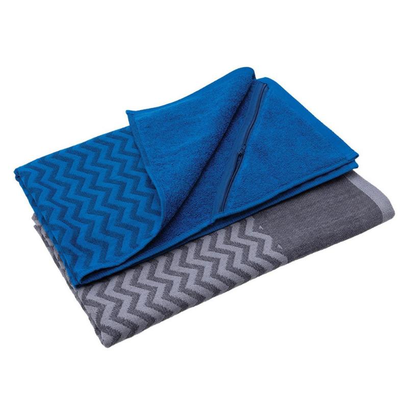 custom gym towel with zip